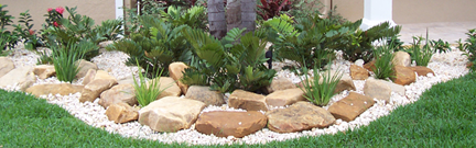 White Rocks Landscaping Ideas Front Yard